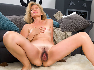 blonde high heels hairy