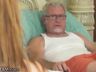 redhead step-grandpa wants
